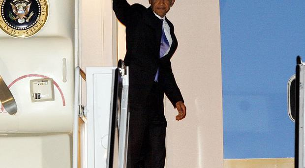An Uzbekistan man is accused of threatening to kill President Barack Obama (AP)