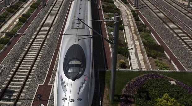 Official attitudes toward the bullet train are shifting in China (AP)