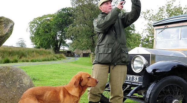 Richard Wolfden, a moorland gamekeeper for the forest of Bowland on the North Yorkshire and Lancashire border, shooting on the Glorious 12th