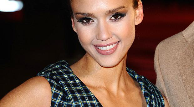 Jessica Alba is gearing up for the new arrival