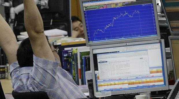 Market gains have come at the end of one of the most volatile weeks seen in years (AP)