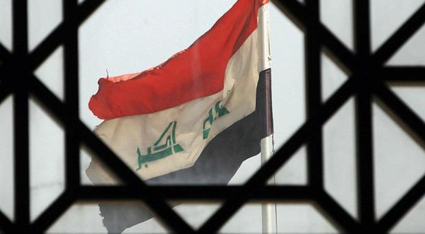 Five Iraqis have been killed and 14 others injured in bombings and shootings in the capital Baghdad and a western town