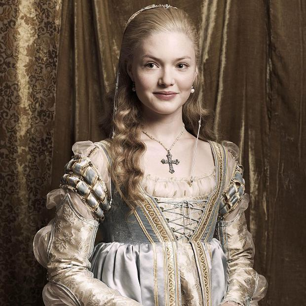 Holliday Grainger plays Lucrezia Borgia in The Borgias