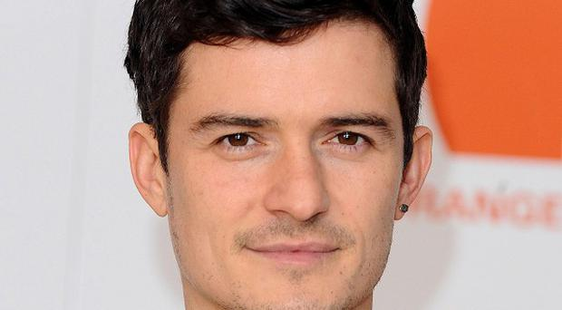 Orlando Bloom has backed efforts to save Britain's threatened butterflies