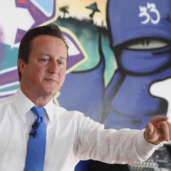 David Cameron vowed to tackle the 'moral collapse' in British society