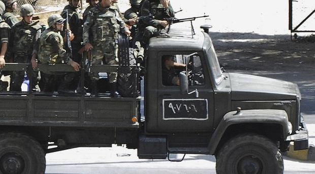 The Syrian army is reportedly in action in Latakia (AP)