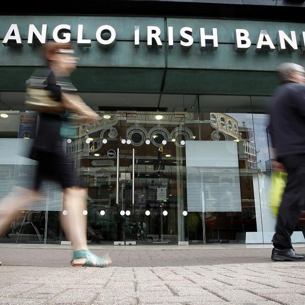 Zombie bank: A short-selling ban did little to halt Anglo-Irish shareholders being wiped out