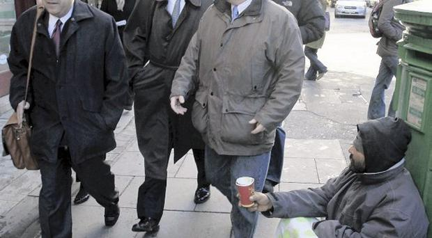 IMF officials in Dublin at the height of the financial crisis