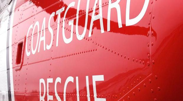 An injured hill walker has been airlifted off the Mourne Mountains in Co Down