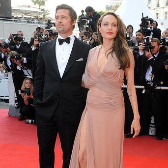 Brad Pitt and Angelina Jolie made a low profile arrival in Glasgow