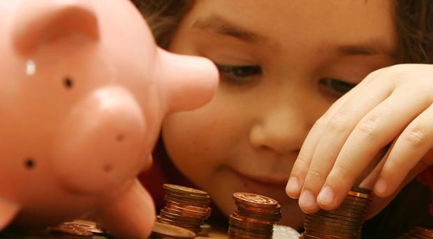 Pocket money has surged to an average of just over 6 pounds a week, figures show