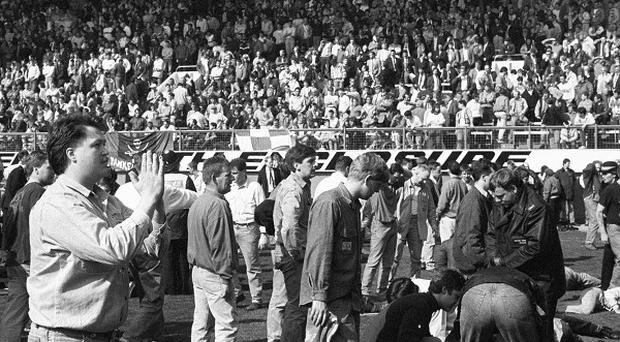 A total of 96 Liverpool fans died in the 1989 Hillsborough disaster