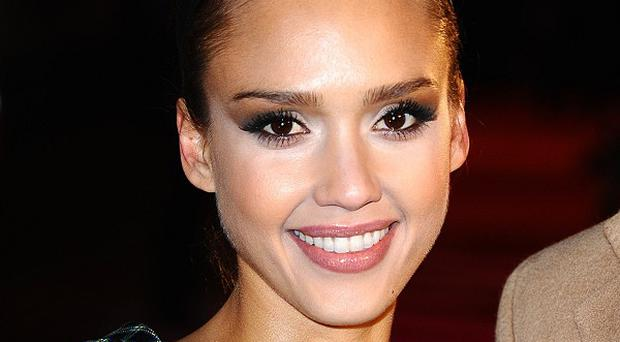 Jessica Alba plays a retired operative in the new film