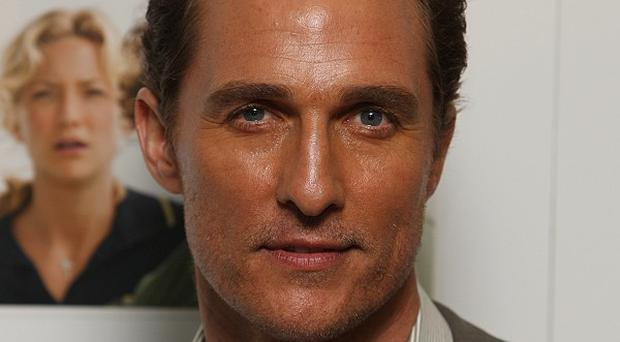 Matthew McConaughey will play a former stripper in the film