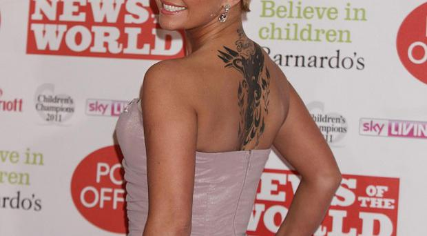 Kerry Katona is in the Big Brother House