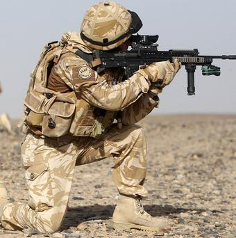 Troops on the front line in Afghanistan could be hit by equipment shortages within 30 days if the supply chain system breaks down, warn MPs