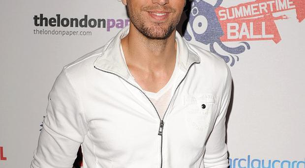 Enrique Iglesias is top of the dance charts in the US
