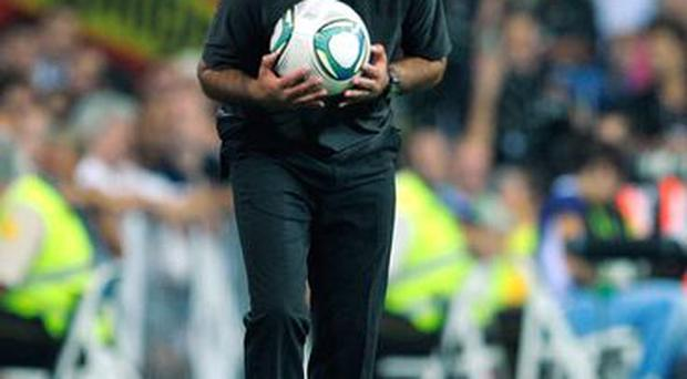 <b>Mour balls please...</b><br/> Following Real Madrid's 3-2 (5-4 on aggregate) defeat to Barcelona at the Nou Camp, Mourinho had this to say: 'What I'm about to say is not a criticism, I'm just stating a fact. There were no ball-boys in the second half, which is something typical of small teams when experiencing difficulties.'