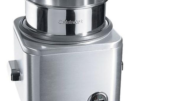 <b>CUISINART: </b>Say goodbye to stodgy rice and welded pans with this steamer that effortlessly cooks up to eight cups of rice. You can also use it for fish or vegetables. £49, houseoffraser.co.uk