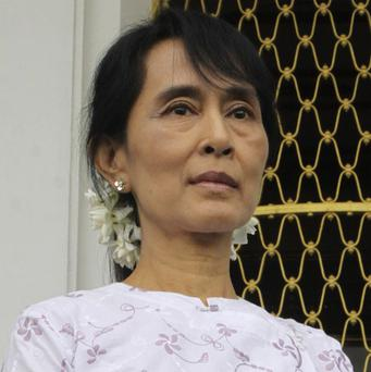Pro-democracy leader Aung San Suu Kyi was invited to talks with Burma's president (AP)