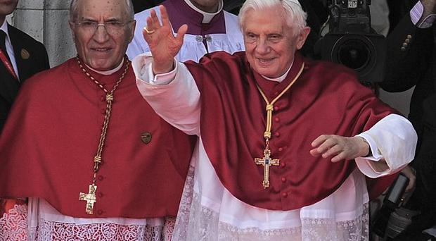 Pope Benedict is in Madrid for a four-day visit for the Catholic Church's World Youth Day (AP)