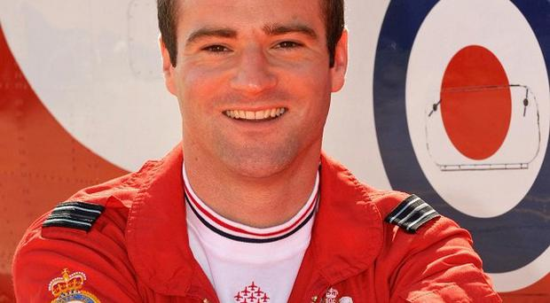 Lieutenant Jon Egging, a Red Arrows pilot who died when his plane crashed following an air show near Bournemouth Airport