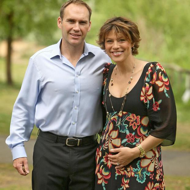 Kate Silverton and husband Mike Heron had tried four cycles of IVF and acupuncture without success before conceiving naturally