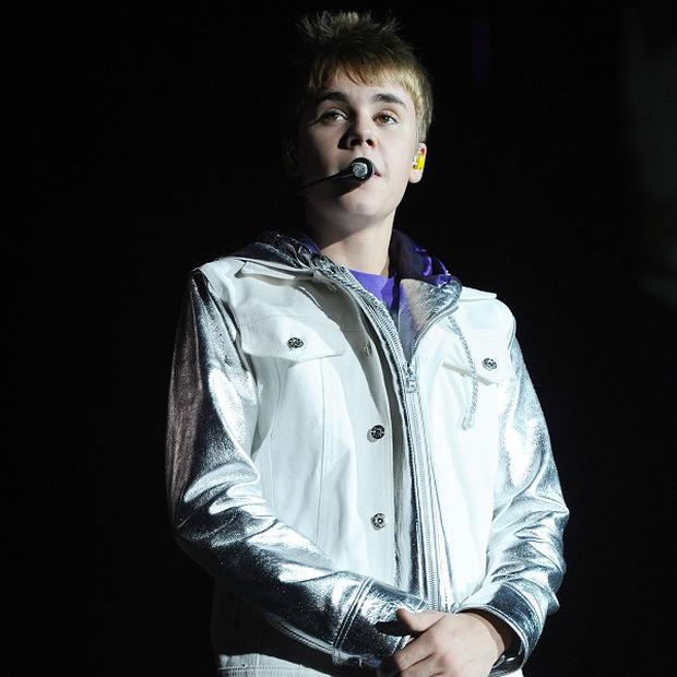 The sign marking Justin Bieber Way has been stolen