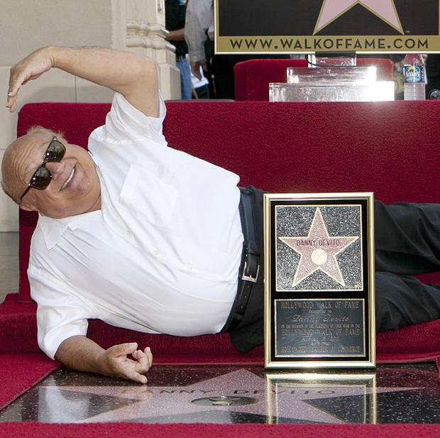 Danny DeVito has received a star on the Hollywood Walk of Fame