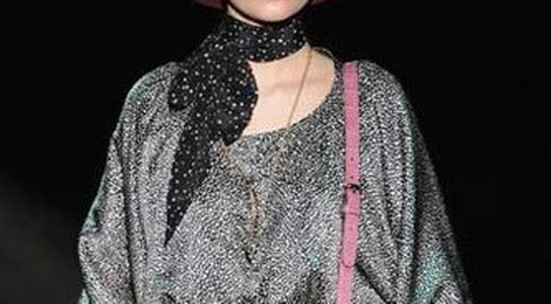 <b>Fear not the hat.</b> Although few modern women wear them, they are a flamboyant gesture that prove fashion credentials in spades. (Pictured: Gucci)