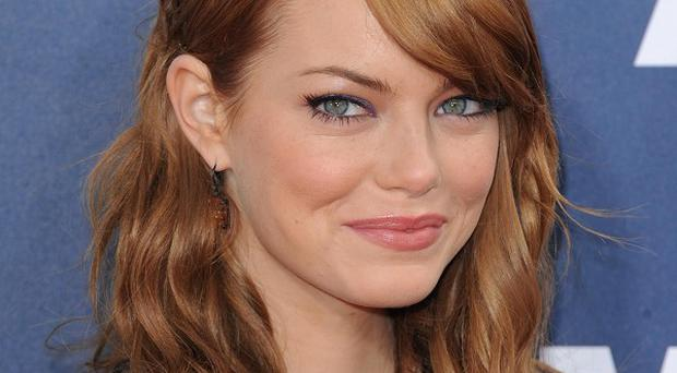 Emma Stone plays a writer in new film The Help