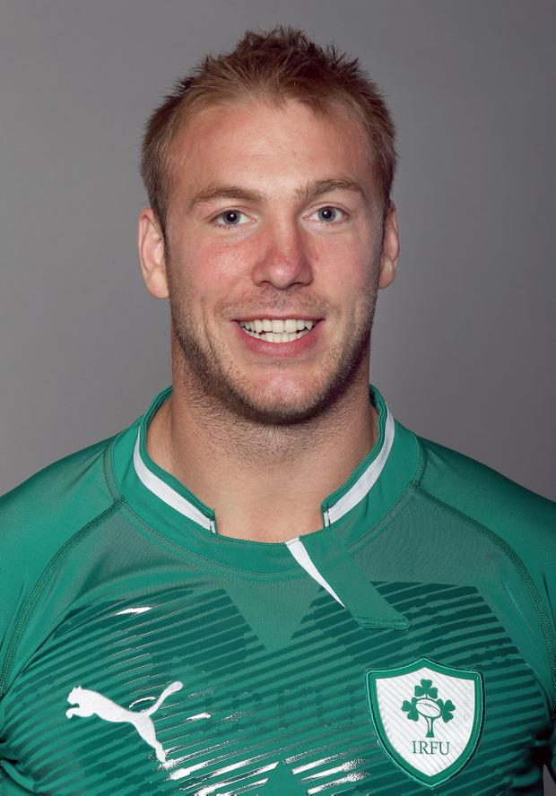 "<b>Stephen Ferris (Ulster)</b><br /> <b>Position</b> Flanker<br /> <b>DoB</b> August 2, 1985<br /> <b>Birthplace</b> Craigavon<br /> <b>Height</b> 1.93 m (6' 4"")<br /> <b>Weight</b> 109 kg (17 st 2 lb)<br /> <b>Caps</b> 25<br /> <b>Star rating</b> 8"