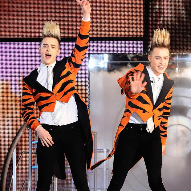 Jedward have winding up their Big Brother housemate Darryn