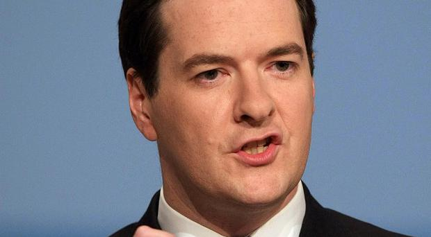 George Osborne: sticking to his plans