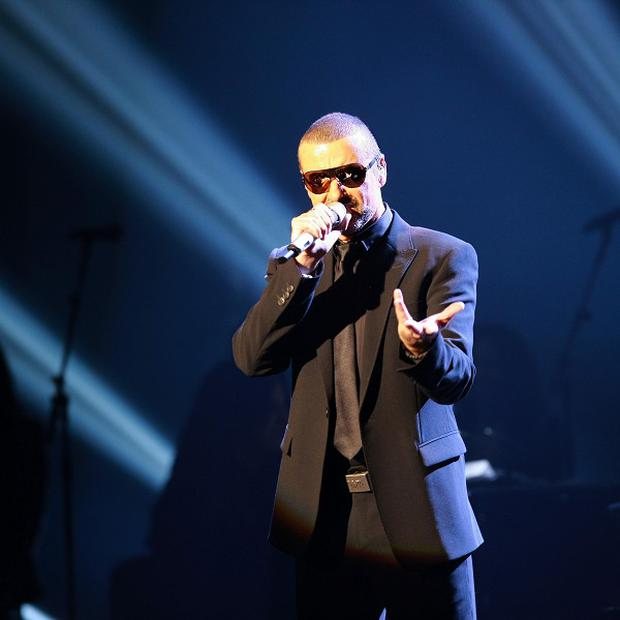 George Michael on the opening night of his Symphonica concerts at the State Opera House in Prague (cfpublicity/PA)