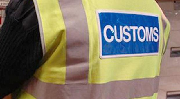 A 56 kilo haul of cannabis has been found in the fuel tank of a van coming off a ferry at Rosslare