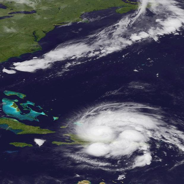 Hurricane Irene passing over Puerto Rico and the Dominican Republic(AP)