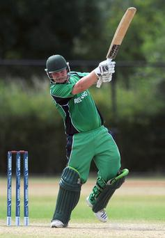 Paul Stirling aims to hurt England with the bat tomorrow