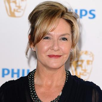 Amanda Burton plays Karen Fisher in Waterloo Road