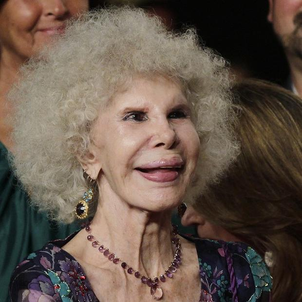 Spain's Duchess of Alba who is to wed again at 85 to a man 25 years her junior(AP)