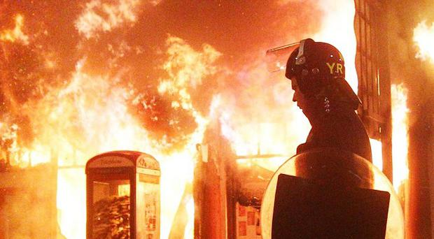 Retailers lost thousands of hours of trading because of this month's riots in cities across England, a survey has shown