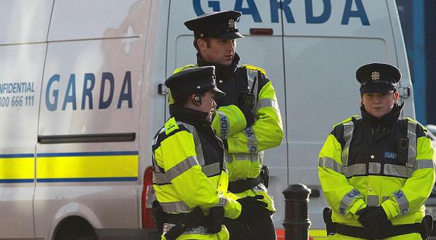 A Co Meath man was injured when he opened his front door and a suspected pipe bomb exploded