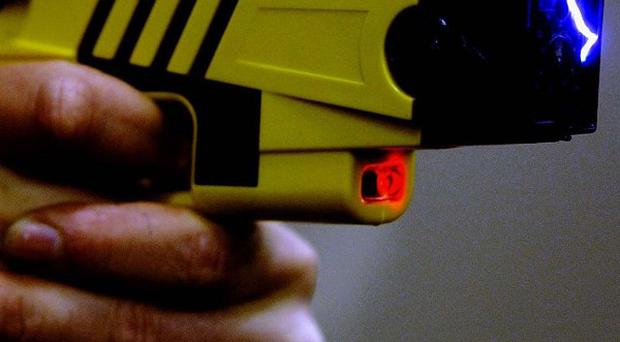Investigations have been launched into the death of a man who was shot with a Taser