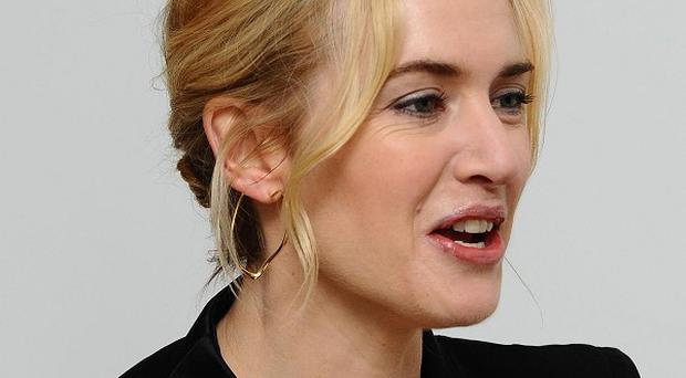 Kate Winslet has spoken of her relief after escaping a fire on Necker Island