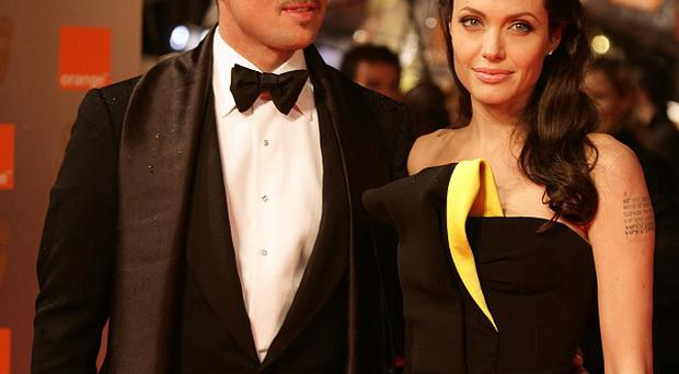Brad Pitt and Angelina Jolie are staying in Scotland