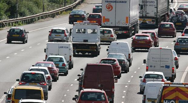 As many as 16 million vehicles will take to the roads this bank holiday weekend