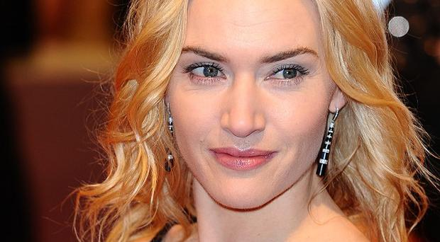 Kate Winslet and her family escaped unharmed