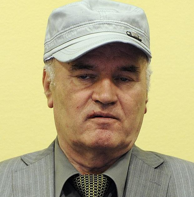 Former Bosnian Serb general Ratko Mladic has returned to court at the UN's Yugoslav war crimes tribunal in The Hague