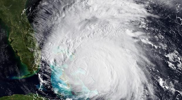 A view of Hurricane Irene as it advances towards the US east coast (AP/NOAA)