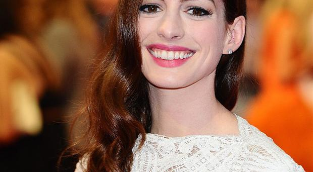 Anne Hathaway plays Catwoman in the Christopher Nolan film